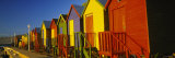 Beach Huts in a Row, St James, Cape Town, South Africa Fotografie-Druck von Panoramic Images 