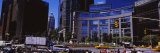 Traffic on the Road in Front of Buildings, Columbus Circle, Manhattan, New York City, New York, USA Photographic Print by  Panoramic Images