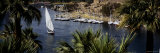 Sailboat in Nile River, Aswan, Egypt Photographic Print by  Panoramic Images