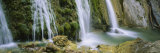 Water Falling on Rocks, Limekiln Falls, Limekiln Campground, Big Sur, California, USA Photographic Print by  Panoramic Images