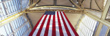 American Flag, Ronald Reagan Washington National Airport, Washington DC, USA Photographic Print by  Panoramic Images