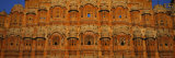 Facade of a Palace, Hawa Mahal, Jaipur, Rajasthan, India Photographic Print by Panoramic Images