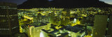 City Lit Up at Night, Cape Town, South Africa Photographic Print by  Panoramic Images
