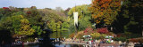 People at a Fountain, Central Park, Manhattan, New York City, New York, USA Photographic Print by Panoramic Images 