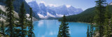 Moraine Lake, Valley of Ten Peaks, Banff National Park, Alberta, Canada Photographic Print by  Panoramic Images