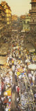 Crowd at a Street Market, Mumbai, India Photographic Print by  Panoramic Images