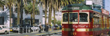 Cable Car Along a Road, City Circle Tram, Harbor Esplanade, Melbourne, Victoria, Australia Photographic Print by  Panoramic Images