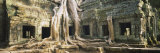 Old Ruins of a Building, Angkor Wat, Cambodia Fotografie-Druck von Panoramic Images