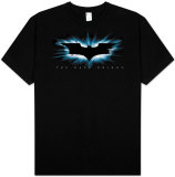 Batman - The Dark Knight - High Impact Burst Logo T-shirts