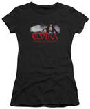 Juniors: Elvira - Dark Mistress T-Shirt