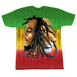 Bob Marley - Profiles Dye T-Shirt