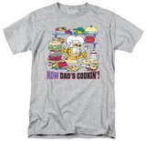 Garfield - Now Dad&#39;s Cooking T-shirts