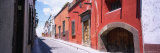 Houses Along a Street, San Miguel de Allende, Guanajuato, Mexico Photographic Print by  Panoramic Images