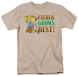 Garfield - Father Grow's Best T-shirts
