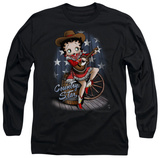 Long Sleeve: Betty Boop - Country Star Long Sleeves