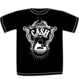 Toddler: Johnny Cash - Guitar Shield T-shirts