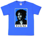 Toddler: Bob Marley - B is for Bob Camisetas