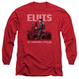 Long Sleeve: Elvis Presley - Return Of The King T-Shirt