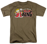Garfield - All Hail the King Shirts