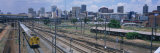 Train on the Railroad Track, Johannesburg Railway Station, Johannesburg, South Africa Photographic Print by  Panoramic Images