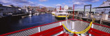 Benches on a Ferry, Peaks Island, Casco Bay, Portland, Maine, USA Photographic Print by  Panoramic Images