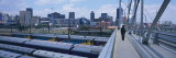 Nelson Mandela Bridge Crosses over Trains, Johannesburg, South Africa Photographic Print by  Panoramic Images