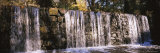 Waterfall in a Forest, Cedarock Park, Alamance County, North Carolina, USA Photographic Print by  Panoramic Images
