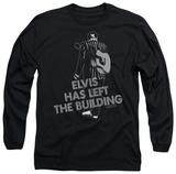 Long Sleeve: Elvis Presley - Elvis Has Left The Bldg T-shirts