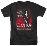 Elvira - I Won't Bite, HARD! T-shirts