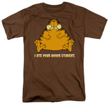 Garfield - I Ate Your Honor Student T-shirts