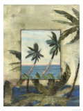 Breezy Palms, no. 1 Giclée-Druck von Jeff Surret