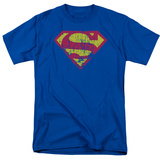 Superman - Classic Logo Distressed Shirts