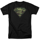 Superman - Camo Logo T-Shirt