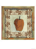 Sketched Apple Giclee Print by Martin Quen