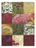 Hydrangea Medley, no. 2 Posters by Julia Hawkins