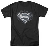 Superman - Biker Metal T-Shirt