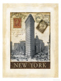 Destination New York Print by Tina Chaden