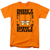 Garfield - Don&#39;t Know - Don&#39;t Care T-shirts