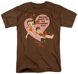 Betty Boop - Breaking Hearts T-shirts