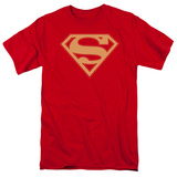 Superman - Red & Gold Shield T-shirts