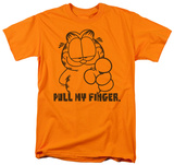 Garfield - Pull My Finger T-shirts