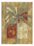 Harlequin Banana Palm Posters