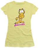 Juniors: Garfield - Adorable T-Shirt