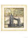 Great Britain Reproduction procédé giclée par Tina Chaden
