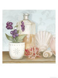 Bath Essentials III Print by Julia Hawkins