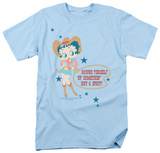 Betty Boop - Hot & Spicy Cowgirl T-Shirt