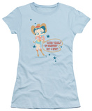 Juniors: Betty Boop - Hot & Spicy Cowgirl T-Shirt