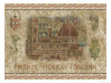 Firenze, Fiore de Toscana Posters by Thomas L. Cathey