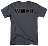 Batman - What Would Batman Do Mask T-shirts
