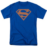 Superman - Blue & Orange Shield T-shirts